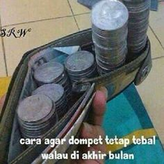 cara biar dompet tebel Funny Memes, Jokes, Just For Laughs, Haha, Comedy, At Least, Humor, Funny Things, Entertainment