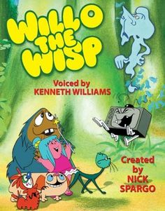 Willo the Wisp with Mavis Cruet and Evil Edna with the late great Kenneth Williams voicing all the characters. Retro Kids, 80s Kids, Kids Tv, 1980s Childhood, My Childhood Memories, Old Cartoons, Classic Cartoons, Classic Tv, Nostalgia