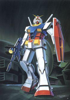 Mobile Suit Gundam - Illustration World II Artbook Gundam Wing, Gundam Art, Japanese Robot, Gundam Mobile Suit, Super Robot, Gundam Model, Illustrations And Posters, Designs To Draw, Book Art