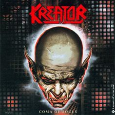 Kreator - Coma Of Souls animated cover artwork by www.animatedcovers.com