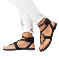 fbdb3be5c Fashion Plain Long Sleeve Jumpsuits. Fashion Thin Belt Clip Toe Flat Sandals