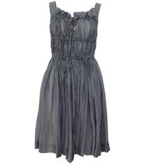 Vivienne Westwood - Anglomania Rose Reine 22 Grey Dress at Coggles.com online store