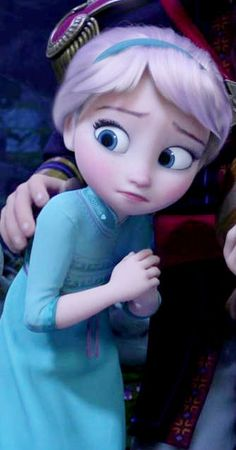 "*ELSA (The Snow Queen) ~ Frozen, 2013.... ""And she won't know that I have powers?"""