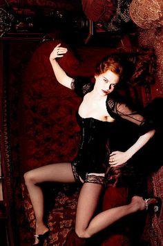 Nicole Kidman as Satins in Moulin Rouge