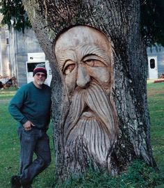 wood spirit carving   My First Tree Troll - Woodcarving Illustrated Message Board