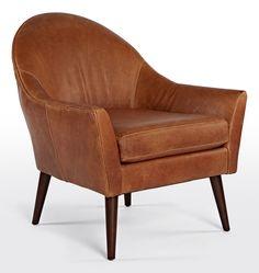 Alberta Leather Chair   Rejuvenation