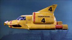 Thunderbird 4 - Thunderbirds - TV show Retro Toys, Vintage Toys, Arte Alien, Thunderbirds Are Go, Tony Abbott, Classic Sci Fi, Retro Futuristic, Transporter, Old Tv Shows