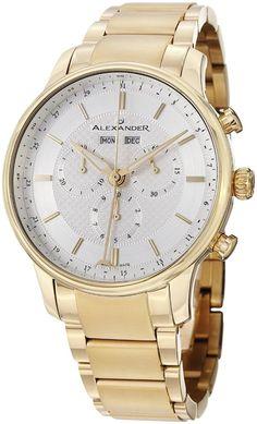 Men Watches : Gold watches men Alexander