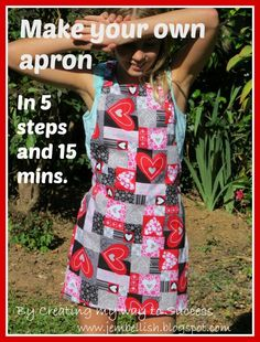 Creating my way to Success: Make your own apron in 5 steps and 15 minutes