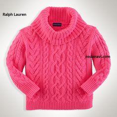 Схема детского свитера спицами от Ralph Lauren