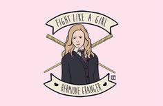Hermione granger- FIGHT LIKE a GIRL