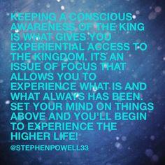#higherlife #kingdom #kingdomliving #walkingwithgod #walkwithjesus #liveinheaven #heavennow