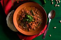 Healthy and Spicy Recipes to Kickstart Your Weight Loss in the New Year: Mexican Cowboy Beans with Longaniza Sausage and Poblano Peppers