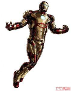 Iron Man - Mark 42 armor