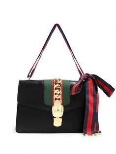 Sylvie Leather Shoulder BagGucci Source: http://www.closetonthego.com/e-shop-product/208992/sylvie-leather-shoulder-bag/ © Closet On The Go