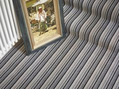Brockway Portofino Nero Stripe - photo courtesy of Brockway Carpets Striped Carpets, Animal Print Rug, Rugs, Home Decor, Farmhouse Rugs, Striped Rug, Interior Design, Home Interior Design, Floor Rugs