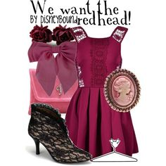 """We want the redhead!"" by lalakay on Polyvore #disney"