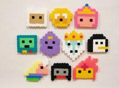 10pc ADVENTURE TIME Magnet Set by RainbowMoonShop