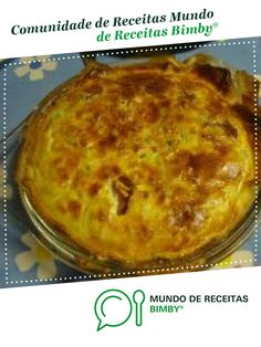 Quiches, Pie, Vegan, Desserts, Food, Tasty Food Recipes, Wafer Cookies, Sweets, Portuguese Recipes