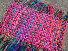 meditation mat crochet pattern from Darn Good Yarn