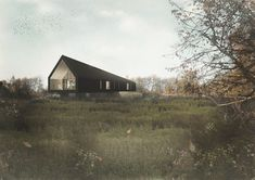 Studio Bark's Black Barn will be an off-grid masterpiece in the English…