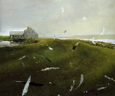 I don't like truth, ...EASTERN design office | Airborne - Andrew Wyeth, Source : ...