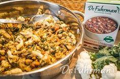 Quick Moroccan Cauliflower Stir-Fry | Healthy and Delicious Recipes | DrFuhrman.com