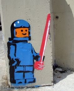 Lego #Street #Art #Graffiti Barcelona