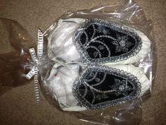 Raised beadwork haudenosaunee style moccasins :)