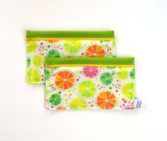 Snack Bags, Reusable Bags, Continental Wallet, Etsy, Unique Jewelry, Bags