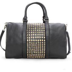 d369e6fae038 MANGO Spiked Bowling Bag ❤ liked on Polyvore Mango Handbags