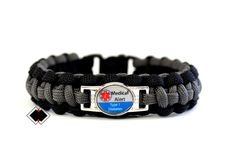 Type 1 Diabetes Medical Alert Paracord By Lifelineoutdoorgear Diabetic Bracelets Types Of 550