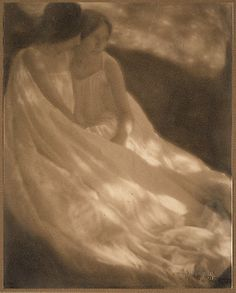 The Burning of Rome - George Seeley (American, 1880–1955) - gum bichromate over platinum print photograph, 1906