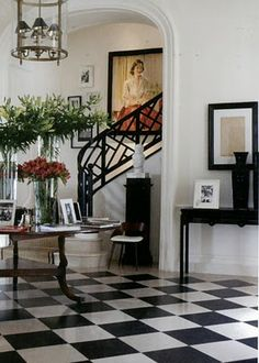 Love this staircase, the flooring, basically everything!   J.K. Place, Capri