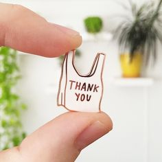shop.adamjk.com   internet gift shop   THANK YOU Lapel Pin