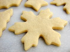 "Best Sugar Cookie Recipe ~ ""This recipe is my absolute favorite because: It comes together quickly; it does NOT need to be chilled; it can be doubled, halved, etc. easily; and it holds its shape with very little expanding when baked."" ."