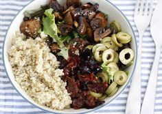 Skinny Six: Quinoa-bowl