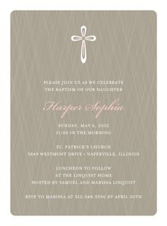 19 best baptism invitations images on pinterest baptism