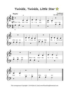 Twinkle Twinkle Little Star, easy piano sheet music to print. Twinkle Twinkle Little Star, easy piano sheet music to print. Easy Piano Sheet Music, Piano Music, Disney Sheet Music Piano, Piano Lessons, Music Lessons, Piano Sheets For Beginners, Free Piano Sheets, Easy Piano Songs, Piano Teaching