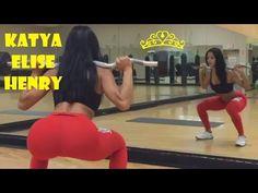 Fitness Girl KATYA ELISE HENRY 's All Best Booty Workout Motivation Video, - YouTube