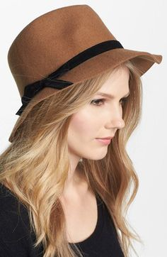 Nordstrom Floppy Wool Felt Fedora available at #Nordstrom