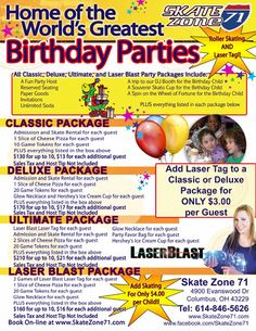 97 Best Kid Birthday Party Locations In Columbus Ohio Images
