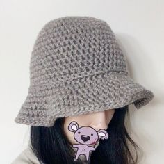 모자 모자 니트모자를 만들자 랄랄라 버킷햇 뜨기 일명 벙거지 모자! 캬 정말 유행은 십년씩 돌고 도나보다... Summer Hats, Winter Hats, Knit Crochet, Crochet Hats, Needle And Thread, Diy And Crafts, Crochet Patterns, Beanie, Street Style