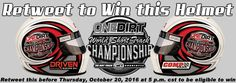 Take advantage of this great opportunity to win a collectible helmet from the inaugural OneDirt World Short Track Championship. http://www.onedirt.com/event-coverage/win-this-wstc-helmet/