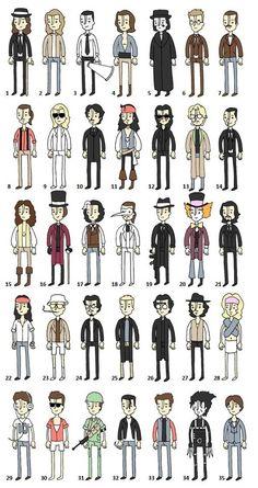 Johnny Depp movies  -  no need to say more!