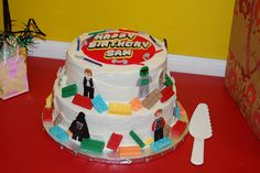 another star wars lego cake