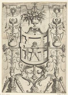 Drie kandelabers, anoniem, 1516 - 1556