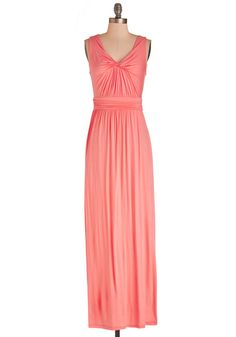 Adore Power to You Dress in Hibiscus. Slip into this vibrant pink maxi dress and feel empowered by a sense of adorableness! Coral Maxi Dresses, Cute Maxi Dress, Pink Maxi, Knit Dress, Pretty Outfits, Pretty Dresses, Cute Outfits, Retro Vintage Dresses, Vintage Inspired Dresses