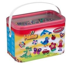 Kits 16506: Hama Beads 10000 Beads In A Bucket-10 Thousand Beads -Genuine By Hama. Free Deli -> BUY IT NOW ONLY: $33.54 on eBay!