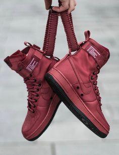 Nike SF Air Force 1 High  Red  sneakersnike Sneakers Nike cd519d9e9